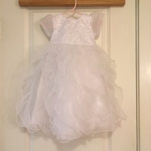 Other - NWOT White Baptismal Baby Dress Size 0-3 Months